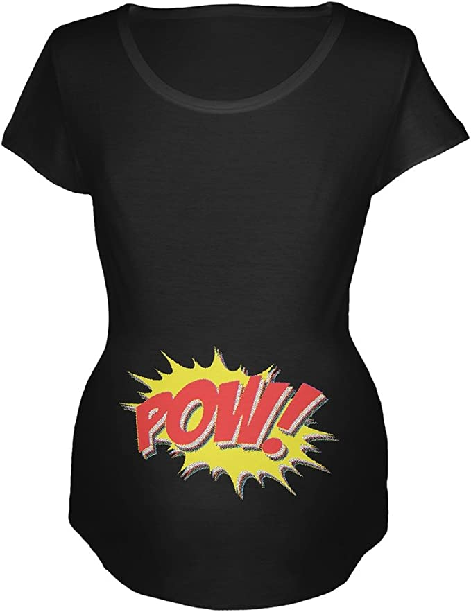 Pow Comic Book T-Shirt 100/% Soft Cotton