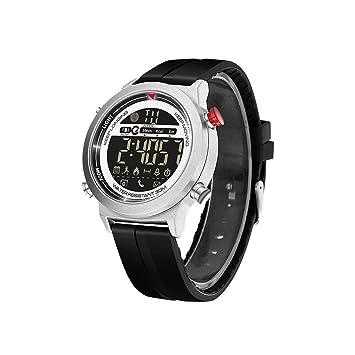 Smart Watch Bracelet, Fulltime® Sport Montre Connectée Fitness Tracker Montre Cadran Lumineux (argent