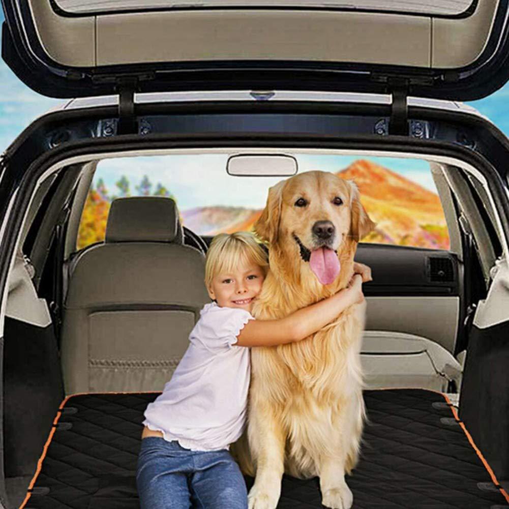 protettore pieghevole per cani portatile resistente allacqua e ai graffi e antiscivolo adatto per auto e SUV e cuscino per sedile posteriore MVP Coprisedile per auto per animali domestici