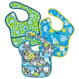 Disney Baby Bumkins Monsters Waterproof SuperBib 3 Piece