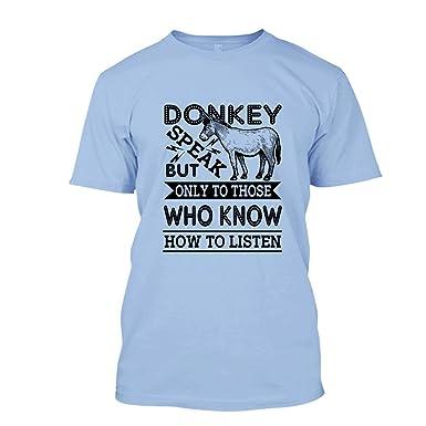 eadae2c34e2 Amazon.com  Donkey Speak Shirt
