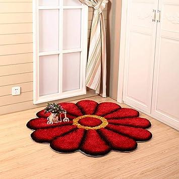 weiwei Teppich 3D Sonnenblume Teppich Schlafzimmer Küche Wohnzimmer ...