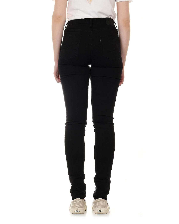 Levi's 721 High Rise Skinny Jeans Femme Noir
