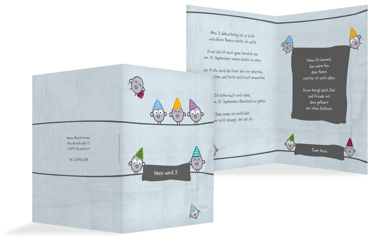 Einladung zum Geburtstag Vogelfest, Vogelfest, Vogelfest, 10 Karten, HellgrauLila B07L1BQ6MP | Spezielle Funktion  | Einzigartig  | Hohe Qualität Und Geringen Overhead  e169a0