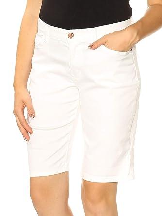 1a8d402aa7da LEE Platinum Petite Gunnison Bermuda Shorts at Amazon Women's Clothing  store: