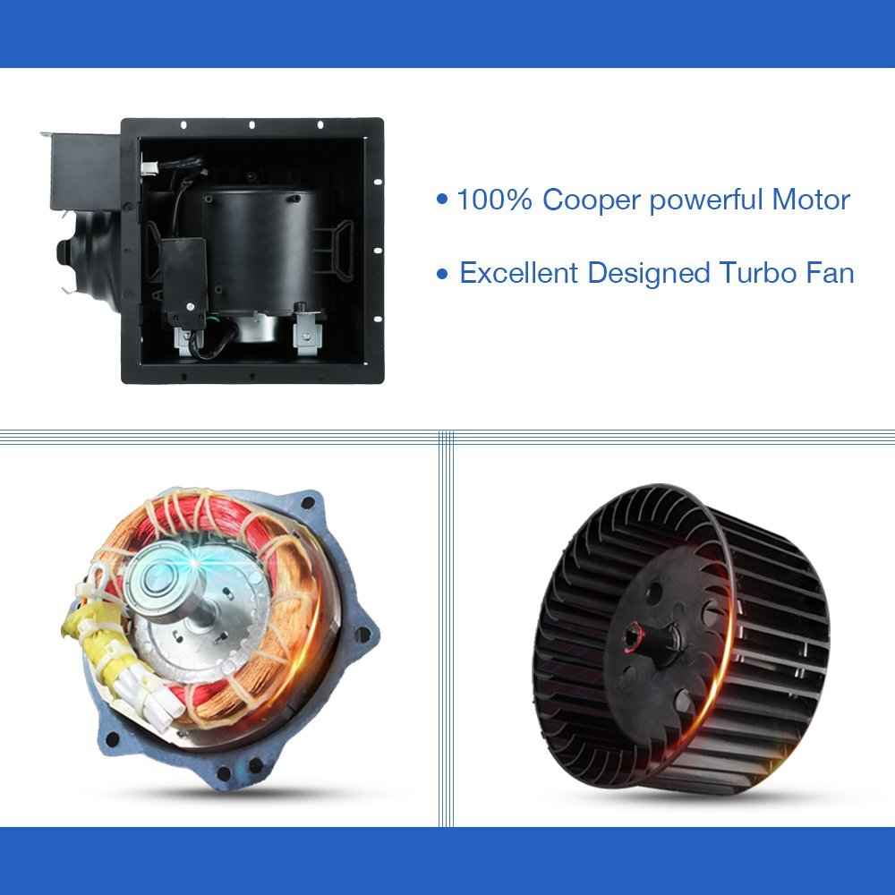 Ultra Quiet Ventilation Fan Bathroom Exhaust Fan (70CFM/0.3Sone) - - Amazon.com