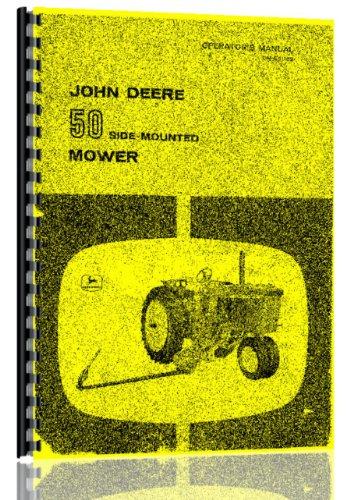 John Deere 50 side mount Tractor Mower Operators Manual