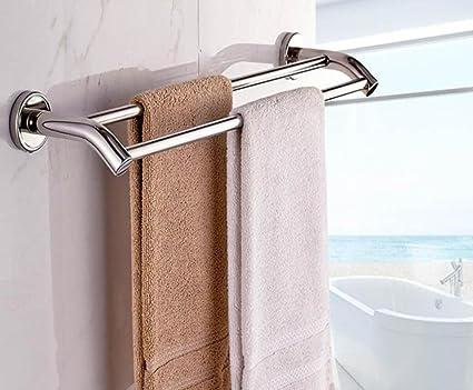 Ld&p portasciugamano mensole da bagno a parete portasciugamani in