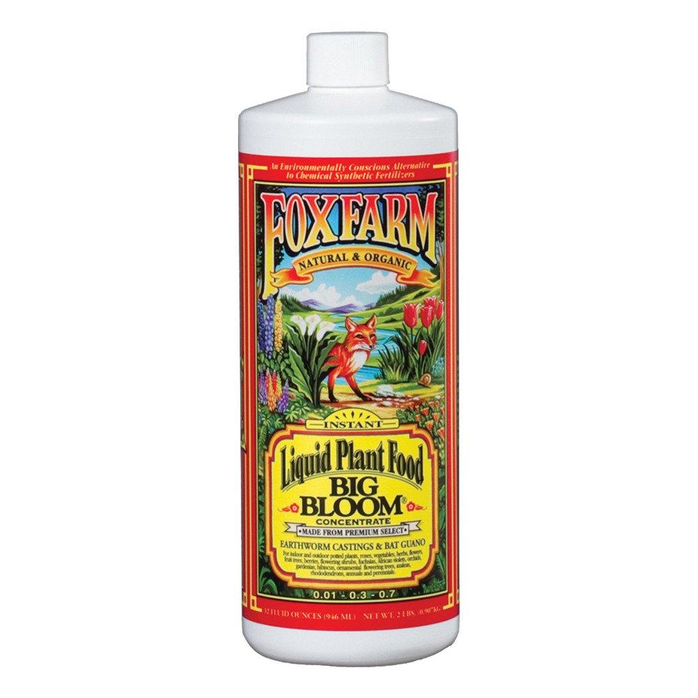 Fox Farm Liquid Nutrient Trio Soil Formula: Big Bloom, Grow Big, Tiger Bloom (Pack of 3 - 32 oz. bottles) 1 Quart Each + Twin Canaries Chart & Pipette by Fox Farm (Image #3)