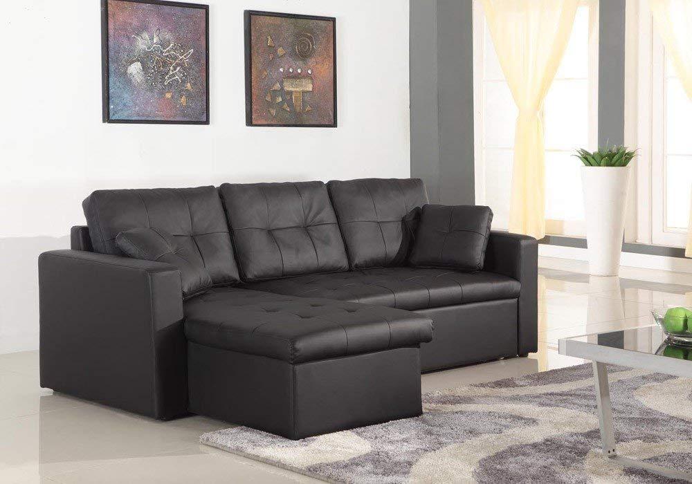 Menzzo Contemporain Toledo sofá de Esquina Convertible ...