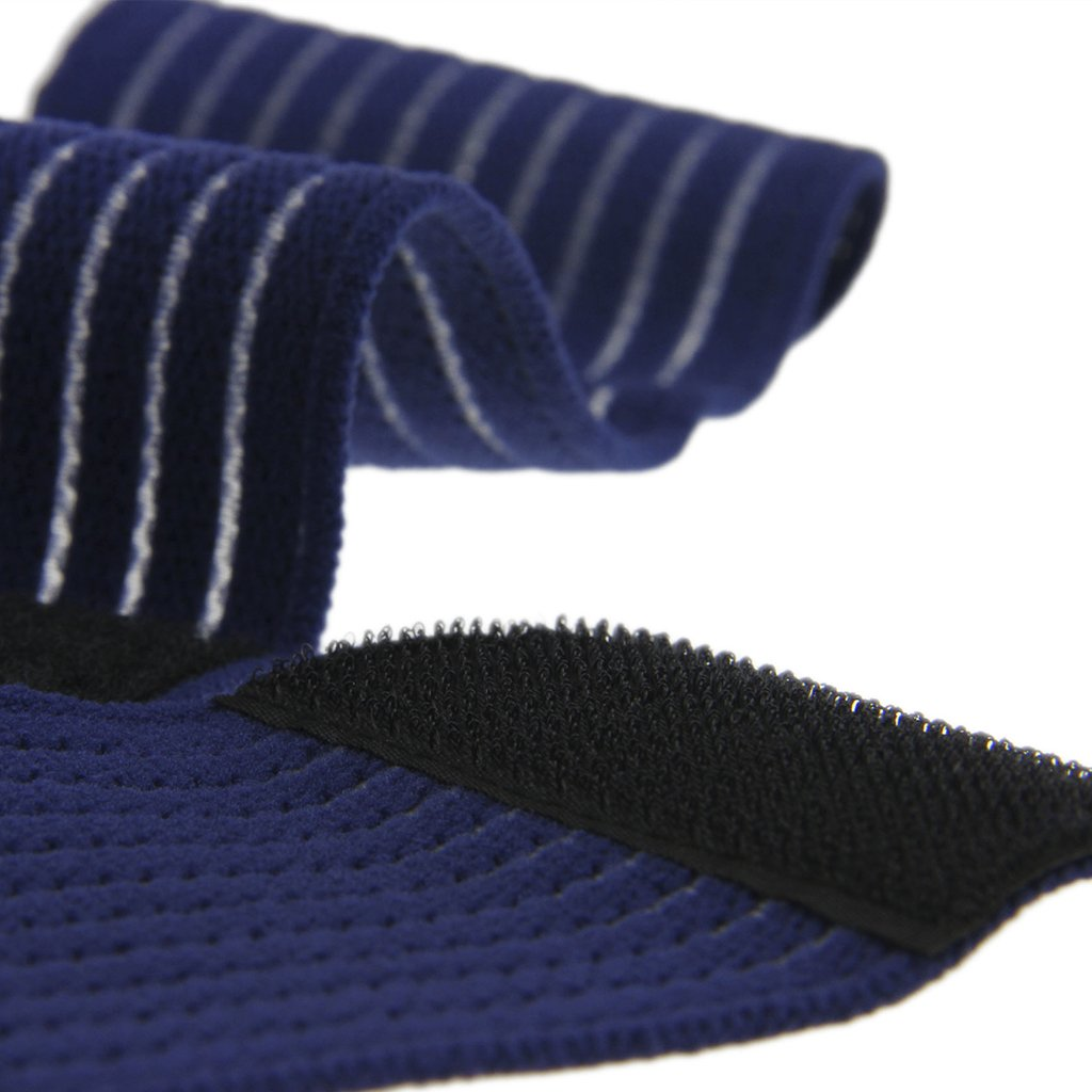 BXT A Pair (2 Pieces) Elastic Breathable Wrap Ankle Support Brace Compression Knee Elbow Wrist Ankle Hand Support Wrap Sports Bandage Strap Hook & Loop Fastener Straps(ONE PIECE) by BXT (Image #7)