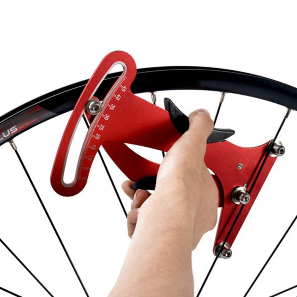 Bicicleta rayo medidor de tensión bici indicador medidor tensiómetro bicicleta rayo tensión rueda constructores herramienta: Amazon.es: Bricolaje y ...