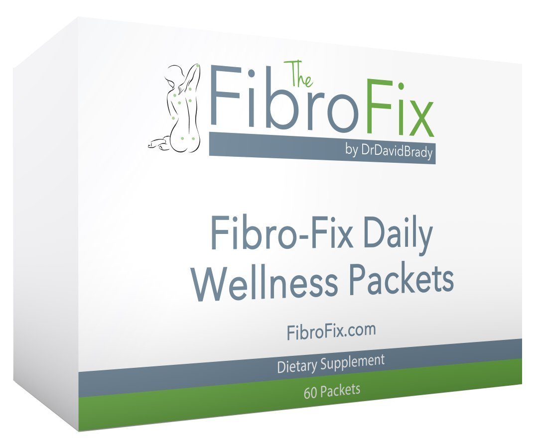 Fibro-Fix Daily Wellness Packets - Dr. David Brady Fibromyalgia Fix, 60 Packets, Supports Classic Fibromyalgia Symptoms