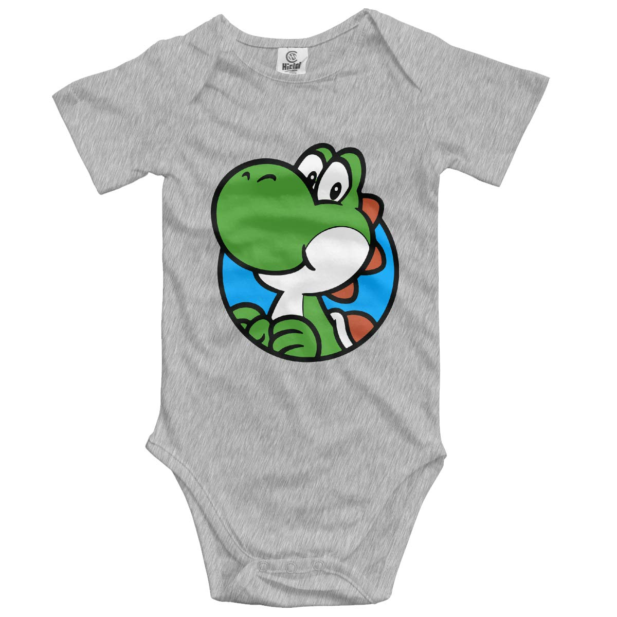 J122 Newborn Dinosaur Companion Short Sleeve Climbing Clothes Playsuit Suit 6-24 Months