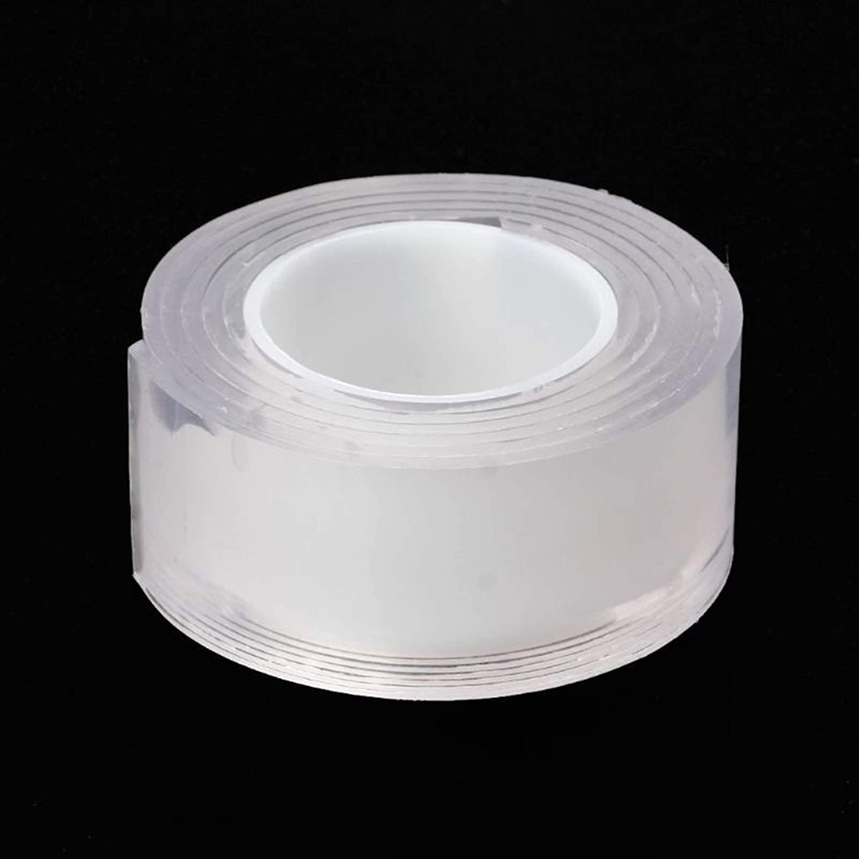 Chenweiwei Lcuiling- Tira de Sellado Adhesivo Reutilizable Adhesivo de Silicona Antideslizante Universal Pegatinas de Pared de Doble Cara, Ampliamente Utilizado