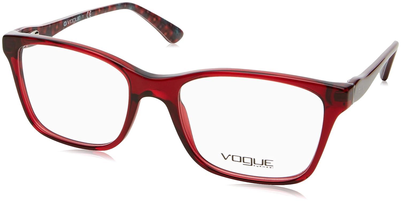 Vogue 0VO2907 Monturas de Gafas, Transparente Bordeaux, 52 para Mujer
