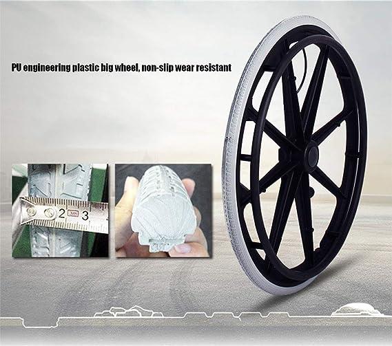 Lahshion Sillas de Ruedas de Transporte para sillas de Ruedas ...