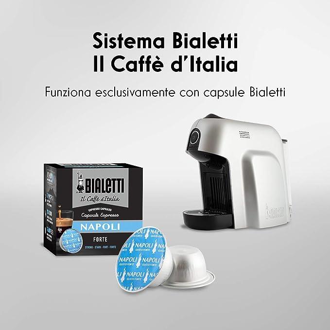 Bialetti Smart - Máquina para Café Espresso con cápsulas plateado