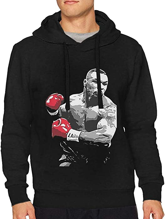 3eddf3d4fe9c Onad723nanjan Men s Mike Tyson Boxing Legend Retro Boxing Comfortable  Hoodies Hooded Sweatshirt