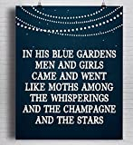 F. Scott Fitzgerald Quote Print,