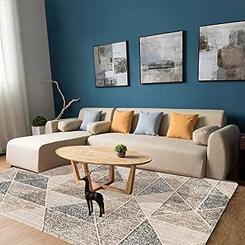 Wxin Teppich Zimmer Kleines Wohnzimmer Tisch Mat Stripe