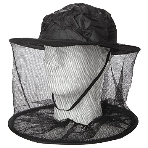 Trenton Gifts Black Head Net, Head Net Insect (Insect Repellent Natrapel Plus Spray)