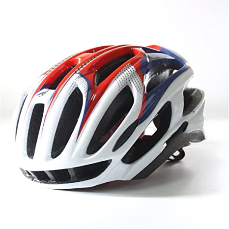 Amazon.com : Szelyia Cycling Helmet Sports M L 54-61Cm Ultralight In-Mold Mtb Mountain Bike Cascos Ciclismo Bicycle SW PINK BLUE L : Sports & Outdoors