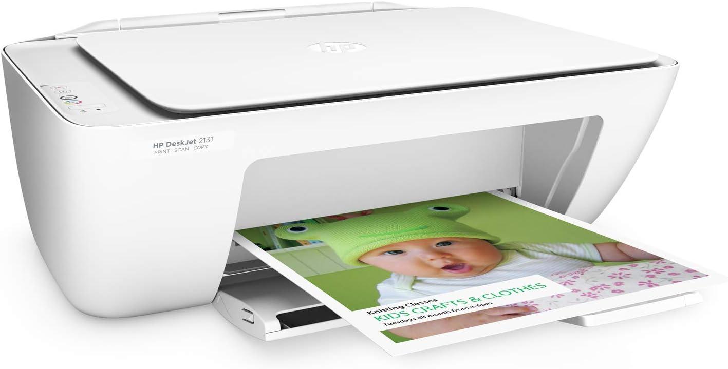 10. HP DeskJet 2131 All-in-One Inkjet Colour Printer