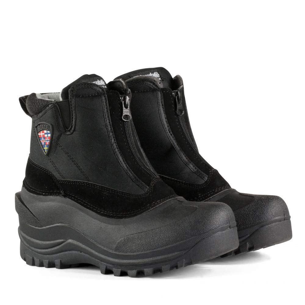 Black Horze Zip Stable Boots