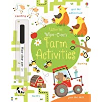Usborne - Wipe-clean Farm Activities: 1