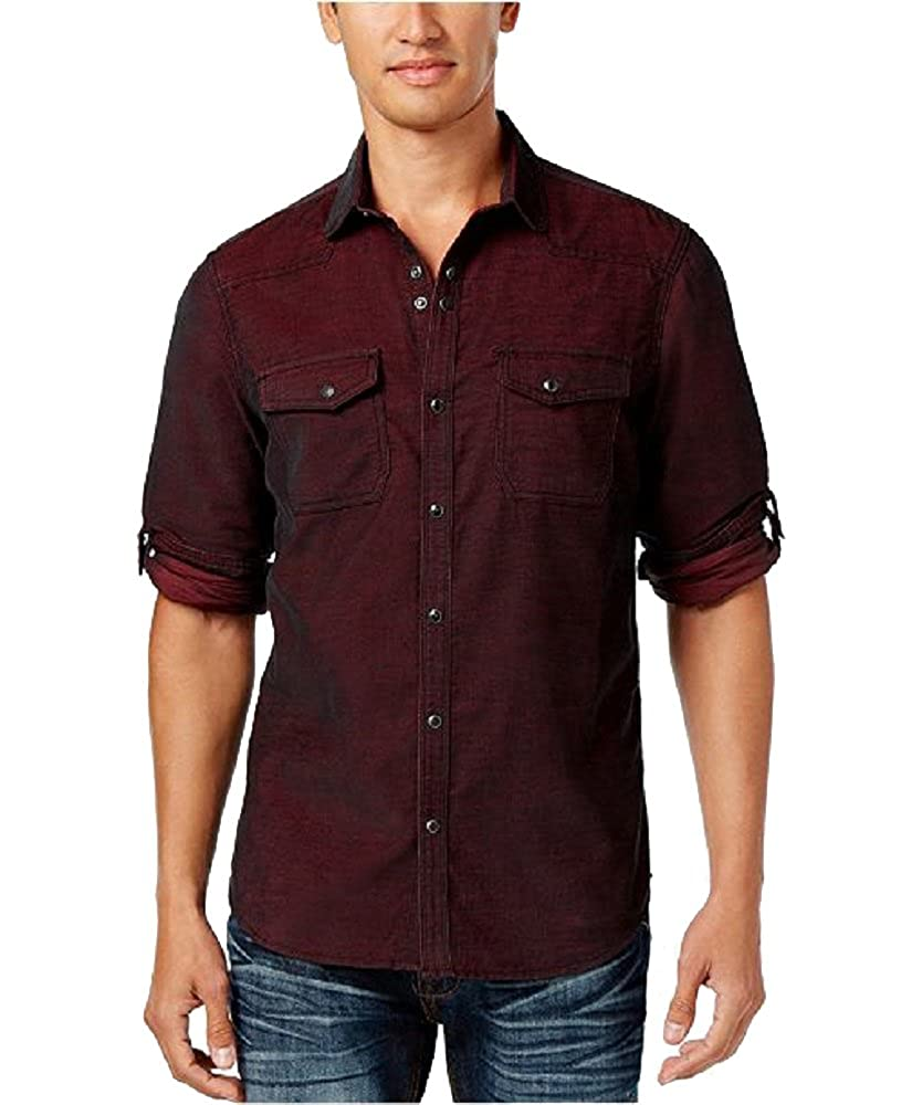 INC International Concepts Mens Calban Corduroy Shirt