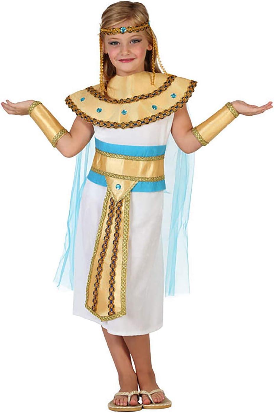 Atosa-23310 Disfraz Egipcia, color dorado, 5 a 6 años (23310 ...