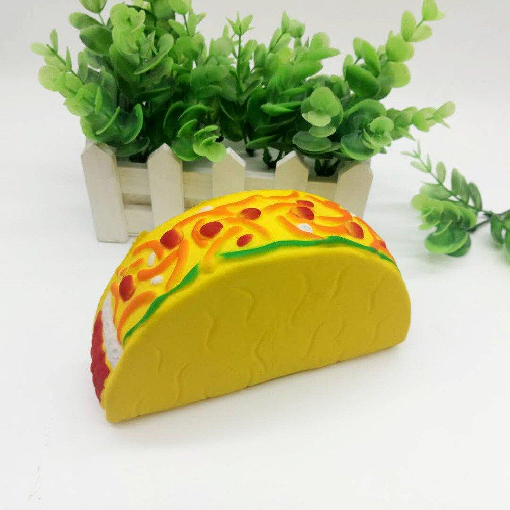 EUZeo_Toy Juguete para niños de 14 cm con aroma a hamburguesa, juguete para aliviar el estrés: Amazon.es: Juguetes y juegos