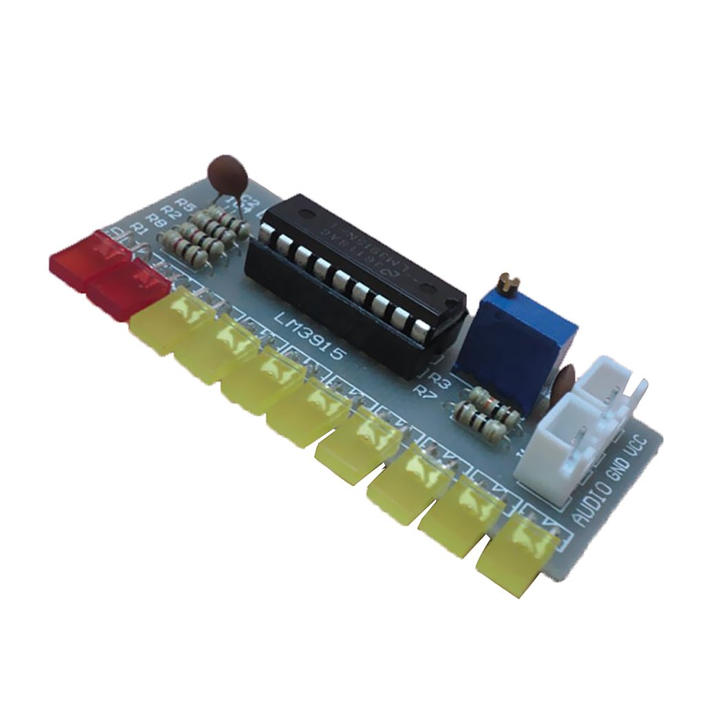 Magideal Lm3915 Audio Level Indicator Diy Kit Module Led Vu Meter Not Working Properly Electrical Engineering Electronics