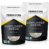 Terrasoul Superfoods Organic Sunflower Seeds, 4 Lbs (2 Pack) - Hulled | Fresh | Vitamin E