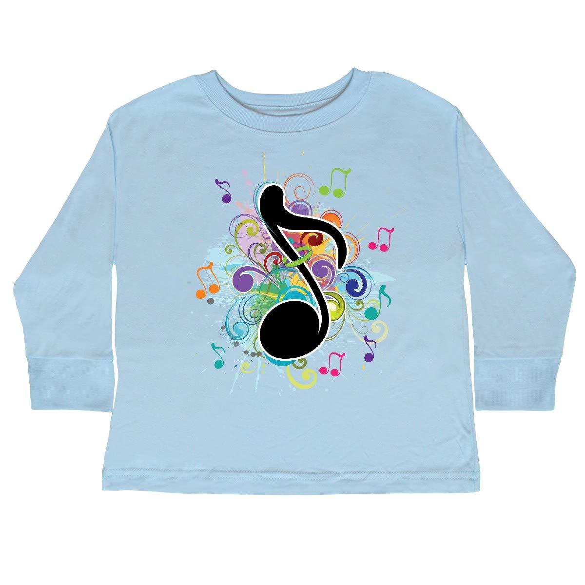 inktastic Music Teacher Band Choir Musician Toddler Long Sleeve T-Shirt