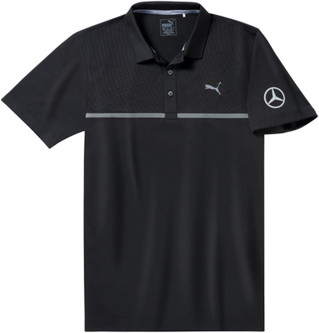 MB Mercedes-Benz Polo de Golf para Hombre, Color Negro, tamaño ...