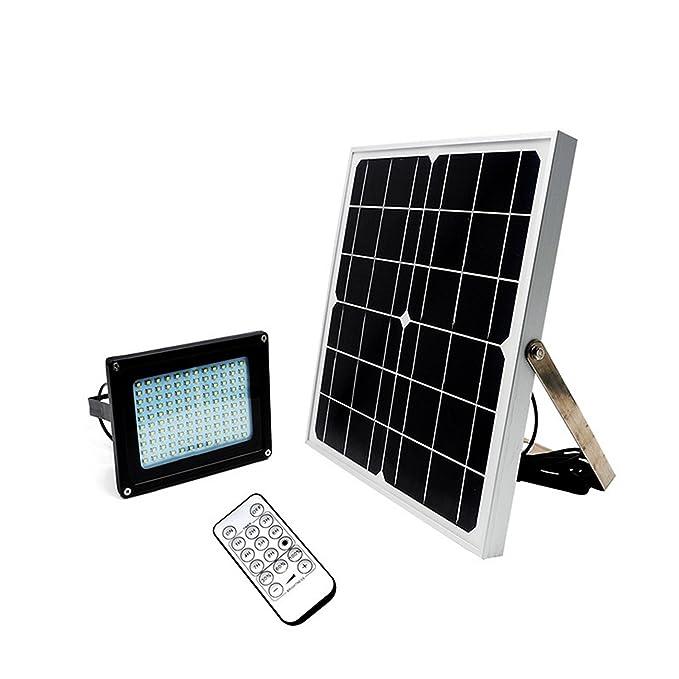 Luces remota Solar 20 W iluminación exterior LED proyector jardín ...