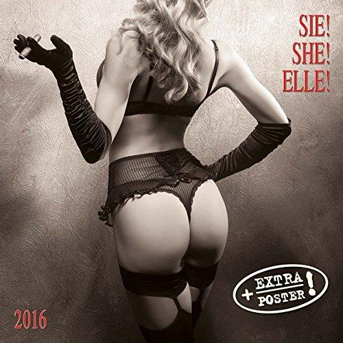 Sie! 2016: Kalender 2016 (Artwork extra)