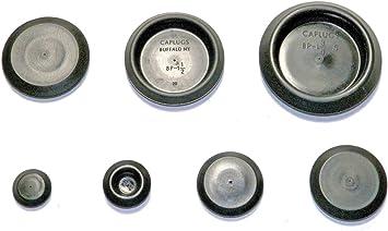 40 pcs Buick Cadillac Chevy  Pontiac flush top hole plugs assortment
