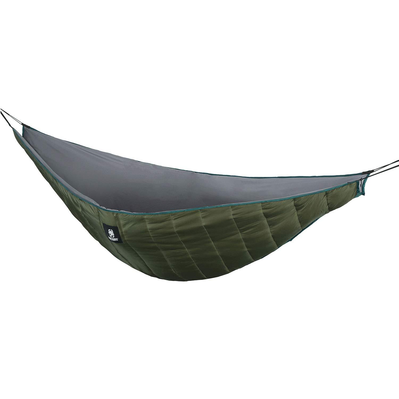 OneTigris Hammock Underquilt, Lightweight Camping Quilt, Packable Full Length Under Blanket (OD Green - Winter Underquilt)