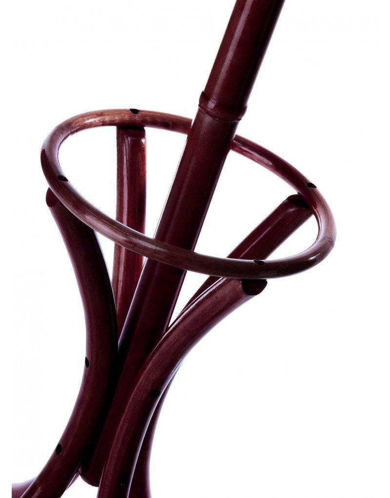 Perchero de Pie Modelo Thonet Color Caoba de Madera Natural Hogar y Más