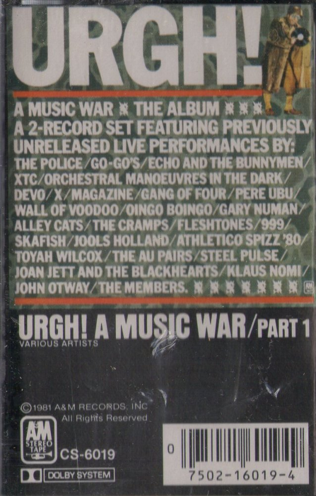Urgh a Music War by Bmg Music