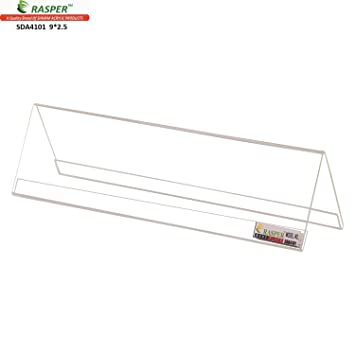 rasper acrylic name plate table desk name plate for office amazon