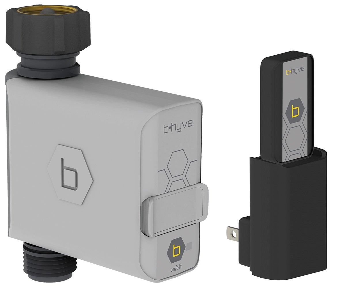 Orbit B-hyve 21004 Smart Hose Faucet Timer Wi-Fi Hub, Compatible Alexa