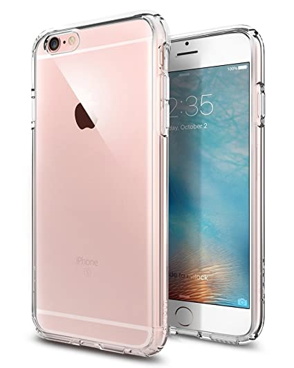 watch 356c3 115db Spigen® iPhone 6 Case,Ultra Hybrid SERIES for iPhone 6 (4.7) Crystal Clear