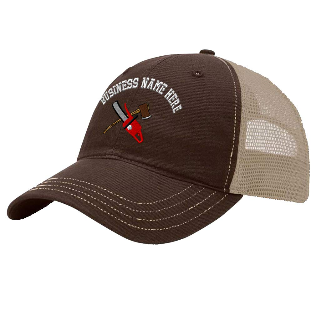 Custom Trucker Hat Richardson Cotton Soft Mesh Cap Snaps