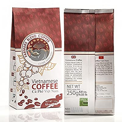 Farmers Blend Coffee Vietnamese Whole Beans