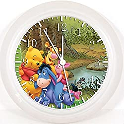 New Winnie the Pooh Wall Clock 10 Will Be Nice Gift and Room Wall Decor X02