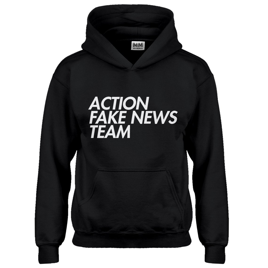 Indica Plateau Youth Action Fake News Team Kids Hoodie